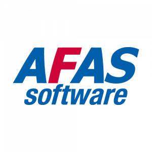The logo of AFAS software