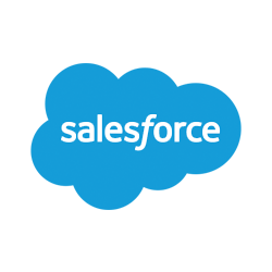 The logo of Salesforce