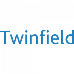 The logo of the company Twinfield