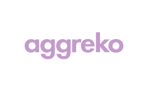 The purple logo of service provider Aggreko