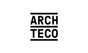 The logo of Archteco architects