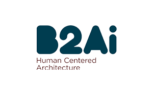 The logo of B2Ai architects