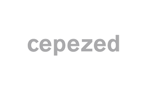 The logo of Cepezed architects