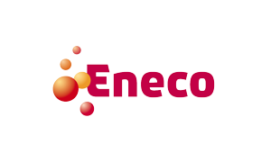 The logo of utility company Eneco