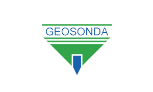 The logo of Geosonda