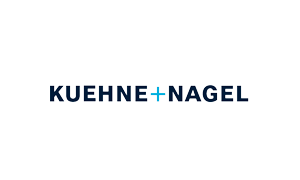 The logo of logistics company Kuehne and Nagel