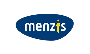 The logo of healthcare insurer Menzis