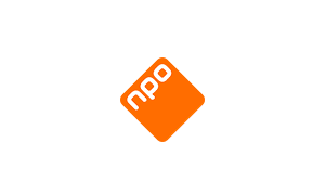 The logo of broadcaster NPO