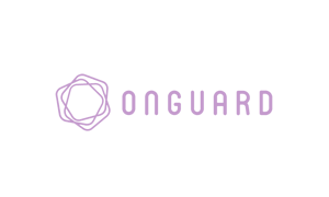 The purple logo of Onguard