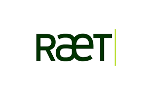 The logo of Raet consultancy