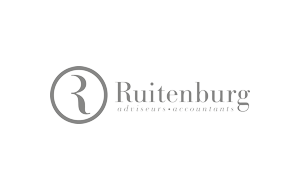 The logo of Ruitenburg accountants