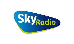 The logo of radiostation Skyradio