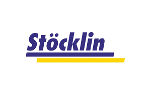 The logo of warehousing company Stocklin