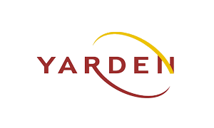 The logo of Yarden