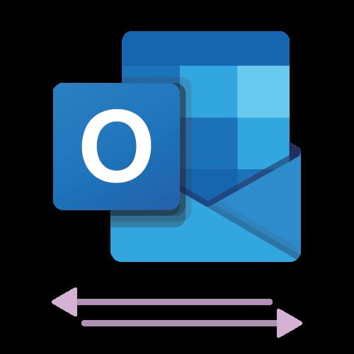 The logo of the Microsoft Outlook 2 way sync calendar integration