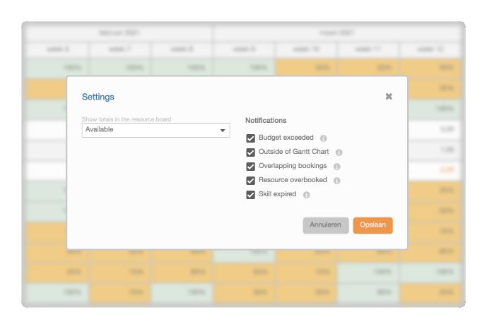 Week Planner - Notifications
